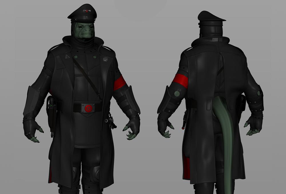 reptilian_nazi_3d_model