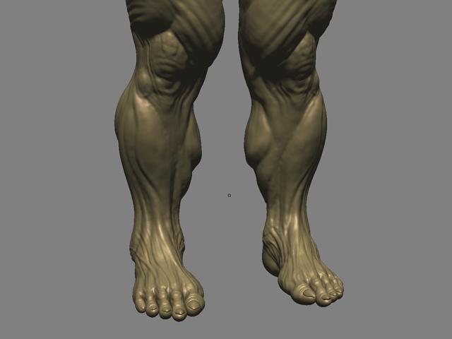 mudbox_front_calves_3d_sculpt