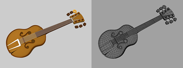 cartoony_guitar_3d_model_prop