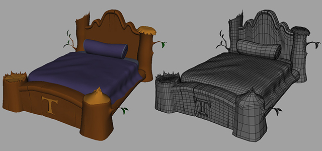 stylized_bed_model_prop